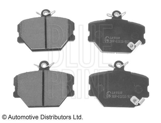 Kit de plaquettes de frein, frein à disque - BLUE PRINT - ADU174202