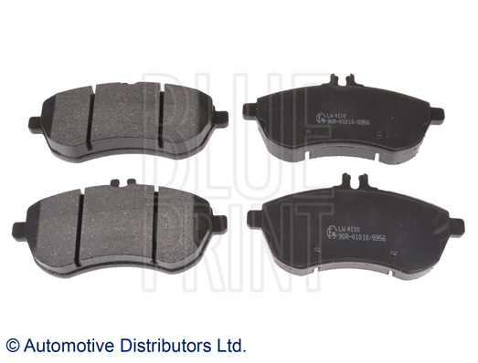 Kit de plaquettes de frein, frein à disque - BLUE PRINT - ADU174206