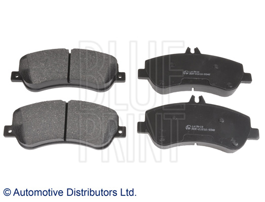 Kit de plaquettes de frein, frein à disque - BLUE PRINT - ADU174207
