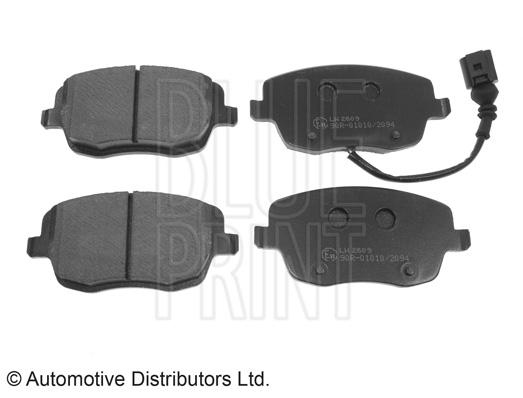 Kit de plaquettes de frein, frein à disque - BLUE PRINT - ADV184203