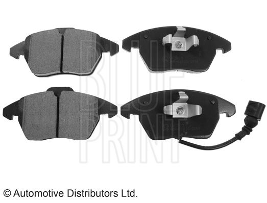 Kit de plaquettes de frein, frein à disque - BLUE PRINT - ADV184204