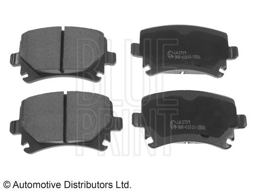 Kit de plaquettes de frein, frein à disque - BLUE PRINT - ADV184205