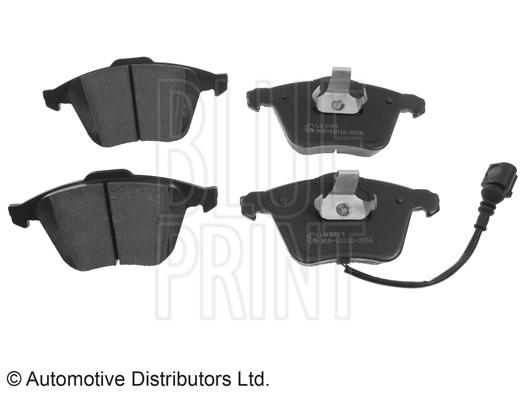 Kit de plaquettes de frein, frein à disque - BLUE PRINT - ADV184207