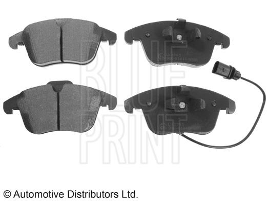 Kit de plaquettes de frein, frein à disque - BLUE PRINT - ADV184209