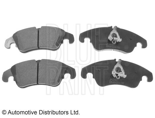 Kit de plaquettes de frein, frein à disque - BLUE PRINT - ADV184210