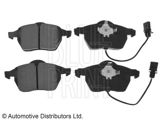 Kit de plaquettes de frein, frein à disque - BLUE PRINT - ADV184213