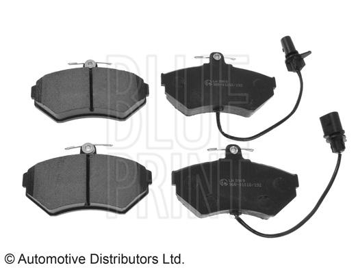 Kit de plaquettes de frein, frein à disque - BLUE PRINT - ADV184214