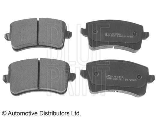 Kit de plaquettes de frein, frein à disque - BLUE PRINT - ADV184215