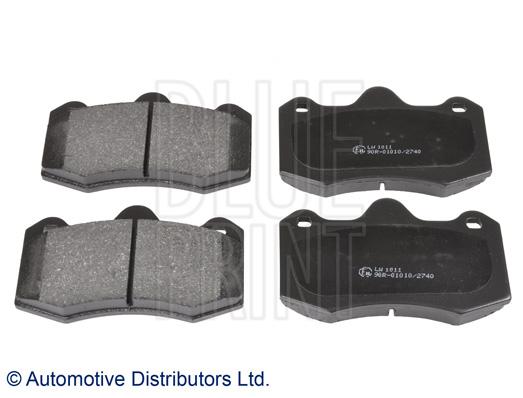 Kit de plaquettes de frein, frein à disque - BLUE PRINT - ADV184220