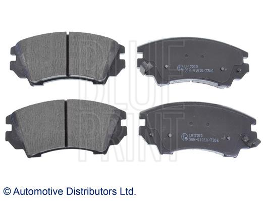 Kit de plaquettes de frein, frein à disque - BLUE PRINT - ADW194202