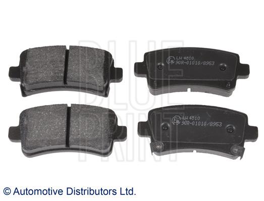 Kit de plaquettes de frein, frein à disque - BLUE PRINT - ADW194206