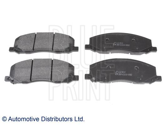 Kit de plaquettes de frein, frein à disque - BLUE PRINT - ADW194207