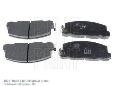 Kit de plaquettes de frein, frein à disque - BLUE PRINT - ADZ94207