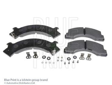 Kit de plaquettes de frein, frein à disque - BLUE PRINT - ADZ94219