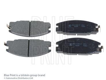 Kit de plaquettes de frein, frein à disque - BLUE PRINT - ADZ94220