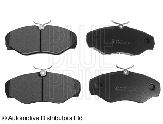Kit de plaquettes de frein, frein à disque - BLUE PRINT - ADZ94224