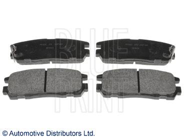 Kit de plaquettes de frein, frein à disque - BLUE PRINT - ADZ94231