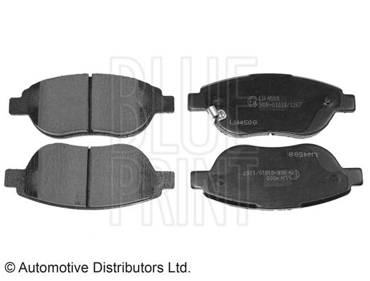 Kit de plaquettes de frein, frein à disque - BLUE PRINT - ADZ94234