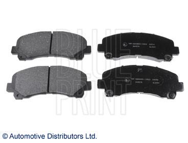 Kit de plaquettes de frein, frein à disque - BLUE PRINT - ADZ94237